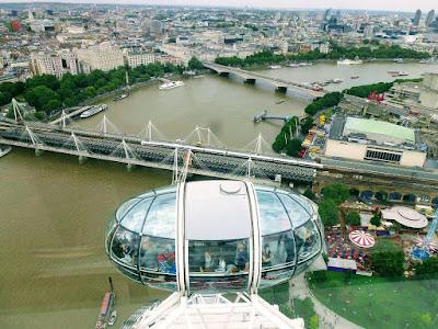 Londres desde las alturas para observar toda la ciudad y sus hoteles