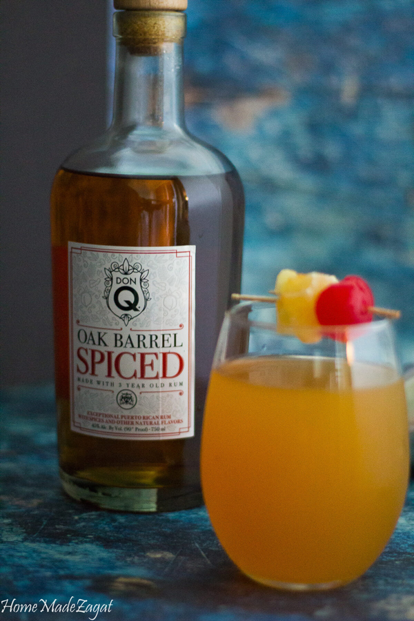 Spiced Ginger Beer Recipe with Don Q rum
