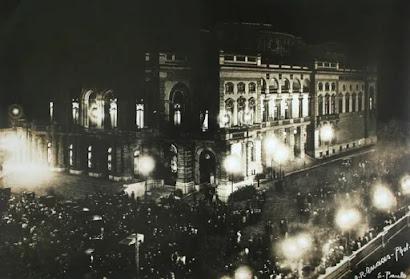Foto arquivo Secretaria da Cultura -  Matéria Theatro Municipal de São Paulo - BLOG LUGARES DE MEMÓRIA