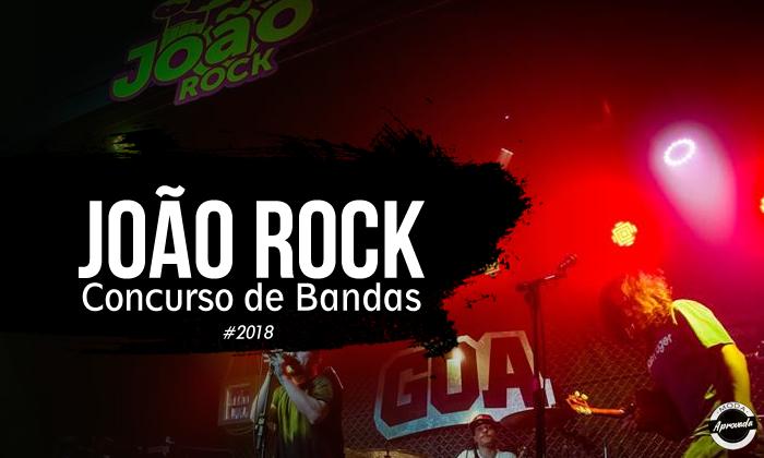 João Rock abre inscrições para Concurso de Bandas 2018