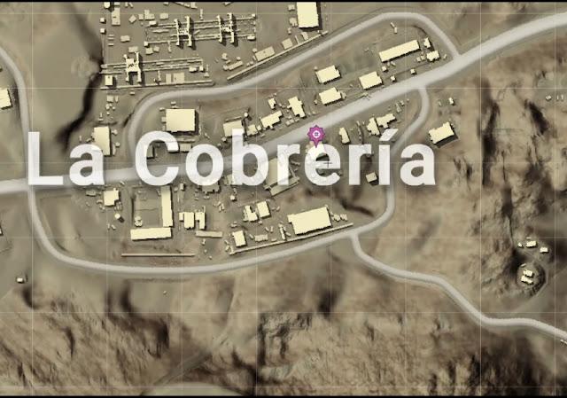 المكان الثاني منطقه Cobreria La