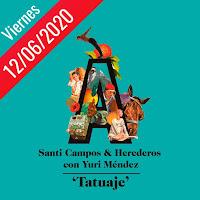 Santi Campos y Los Herederos anuncia single con Yuri Méndez llamado Tatuaje