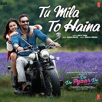 Tu Mila To Haina Full Lyrics Song – De De Pyaar De 2019