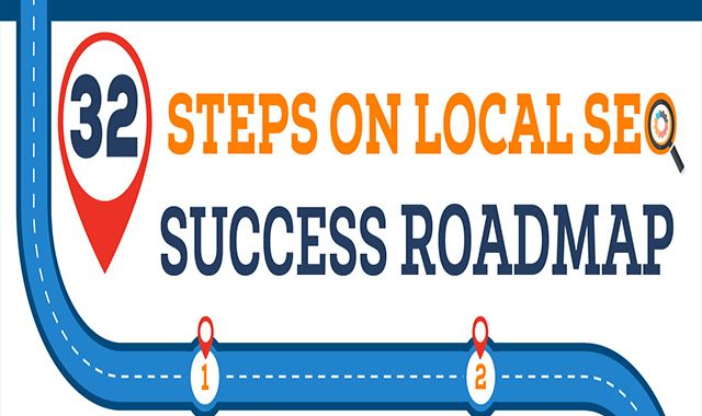 32 Steps To Increase Your Local Search Visibility #infographic