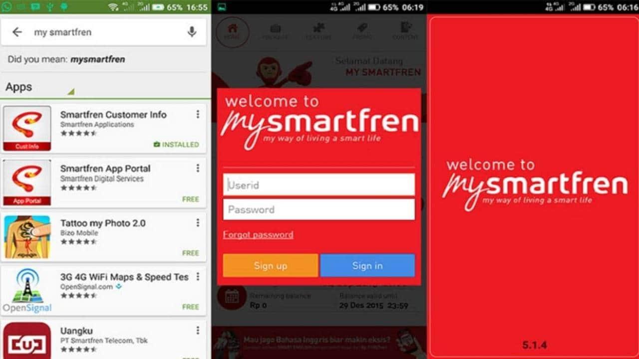 Cara Cek Nomor Smartfren melalui Aplikasi MySmartfren