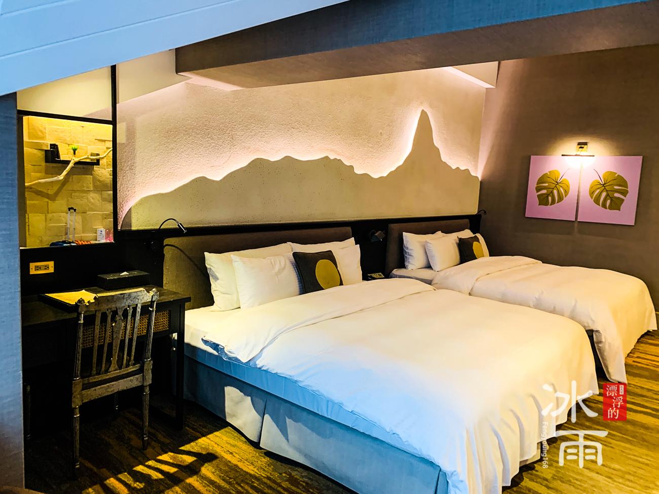陽明山天籟渡假酒店|床頭裝飾草山風情