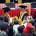 Akhirya Presiden ke-5 RI Megawati Soekarnoputri menerima gelar doctor honoris causa dari Universitas Negeri Padang