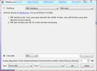 Cara Install Linux Tanpa Flashdisk dan CD