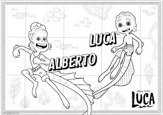 לוקה ואלברטו לצביעה