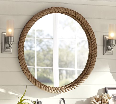 maison newton researching how to make a rope border mirror. Black Bedroom Furniture Sets. Home Design Ideas