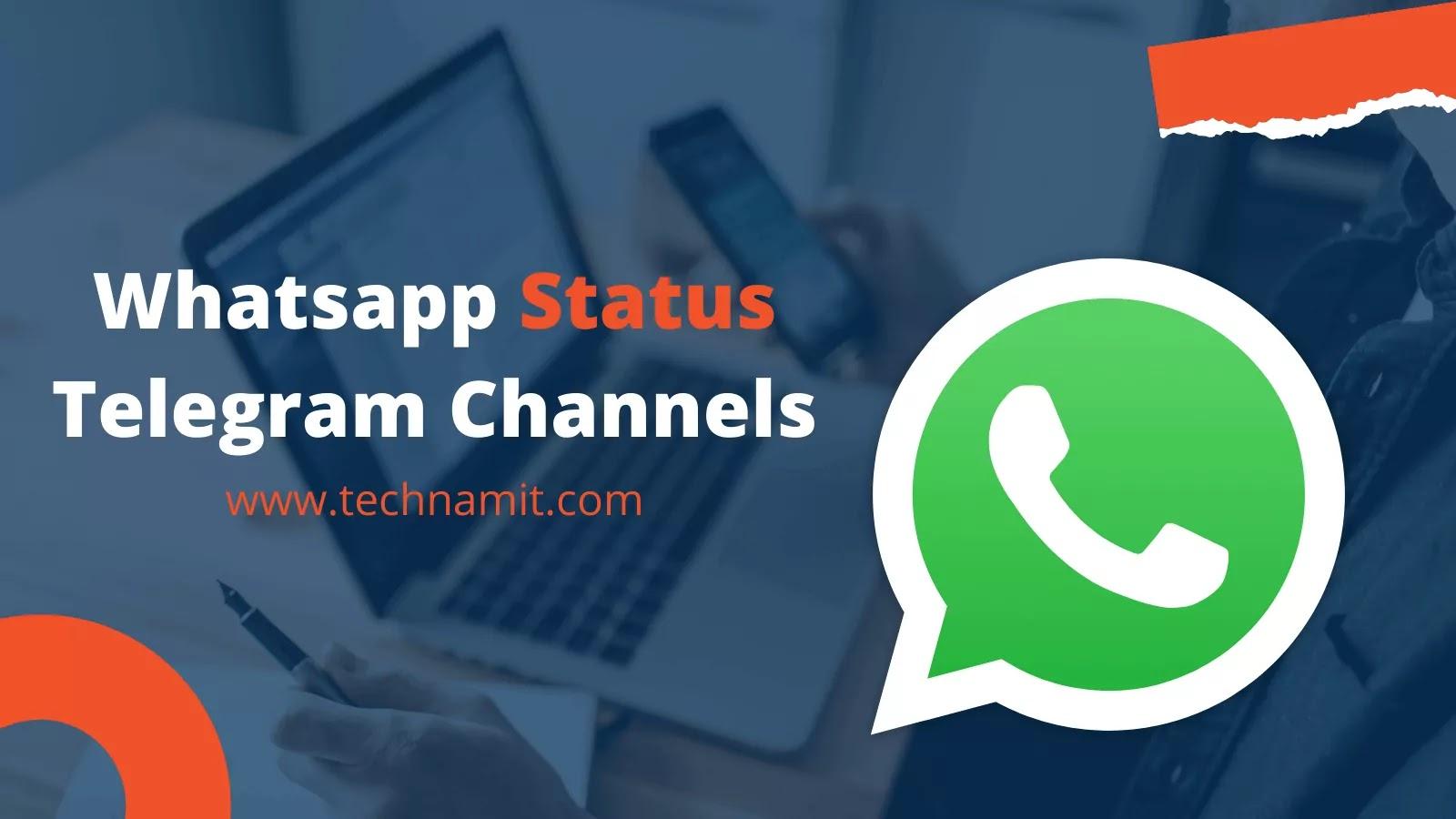 Top 20 Best Full HD Whatsapp Status Telegram Channels List 20