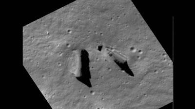Estructuras ampliadas (lado oculto de la Luna)
