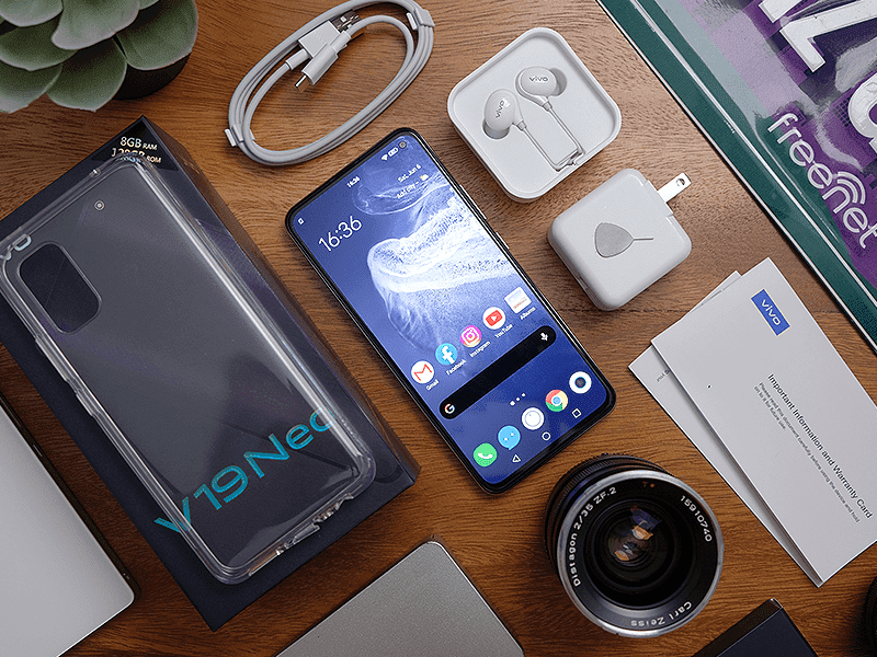 vivo V19 Neo's 4,500mAh battery life lets you game and do more