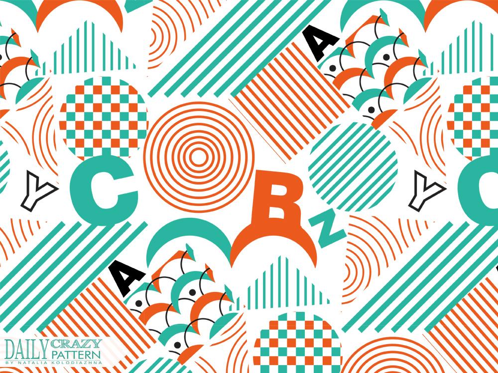 Chaotic geometric pattern