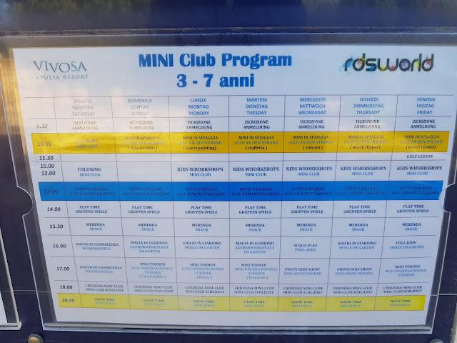 Programma attività-Vivosa Apulia resort