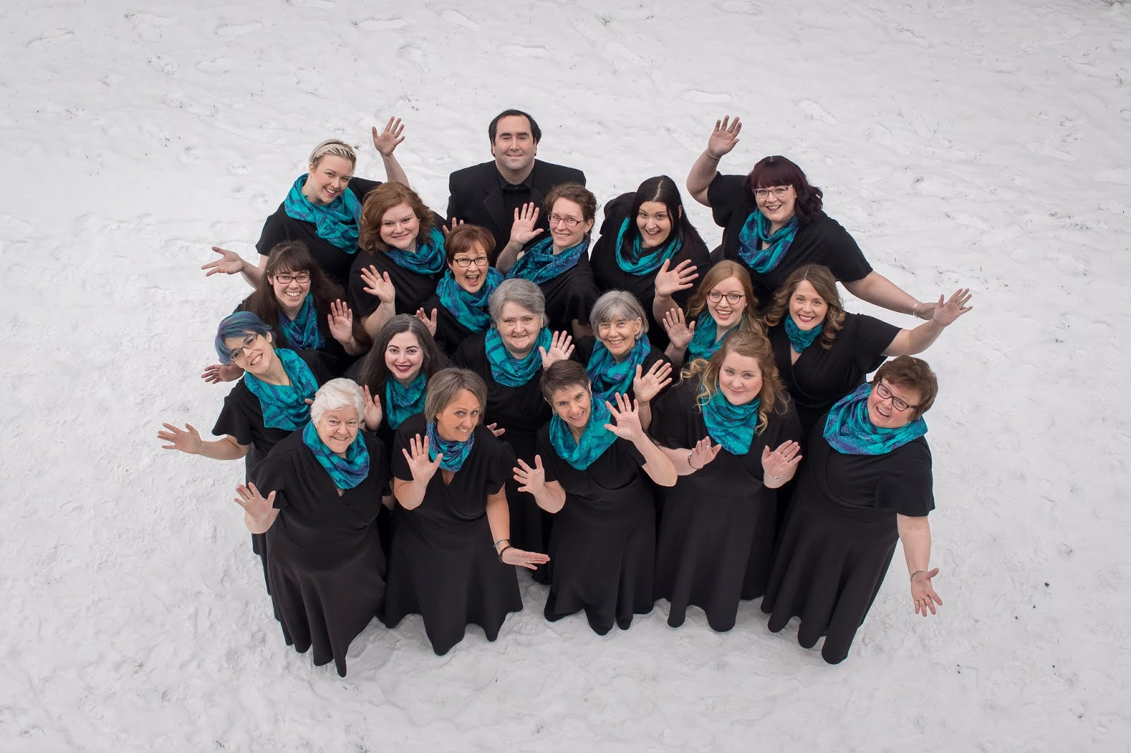 Blonde in the Choir: Podium Choir Blog Series: Aurora Women's Choir