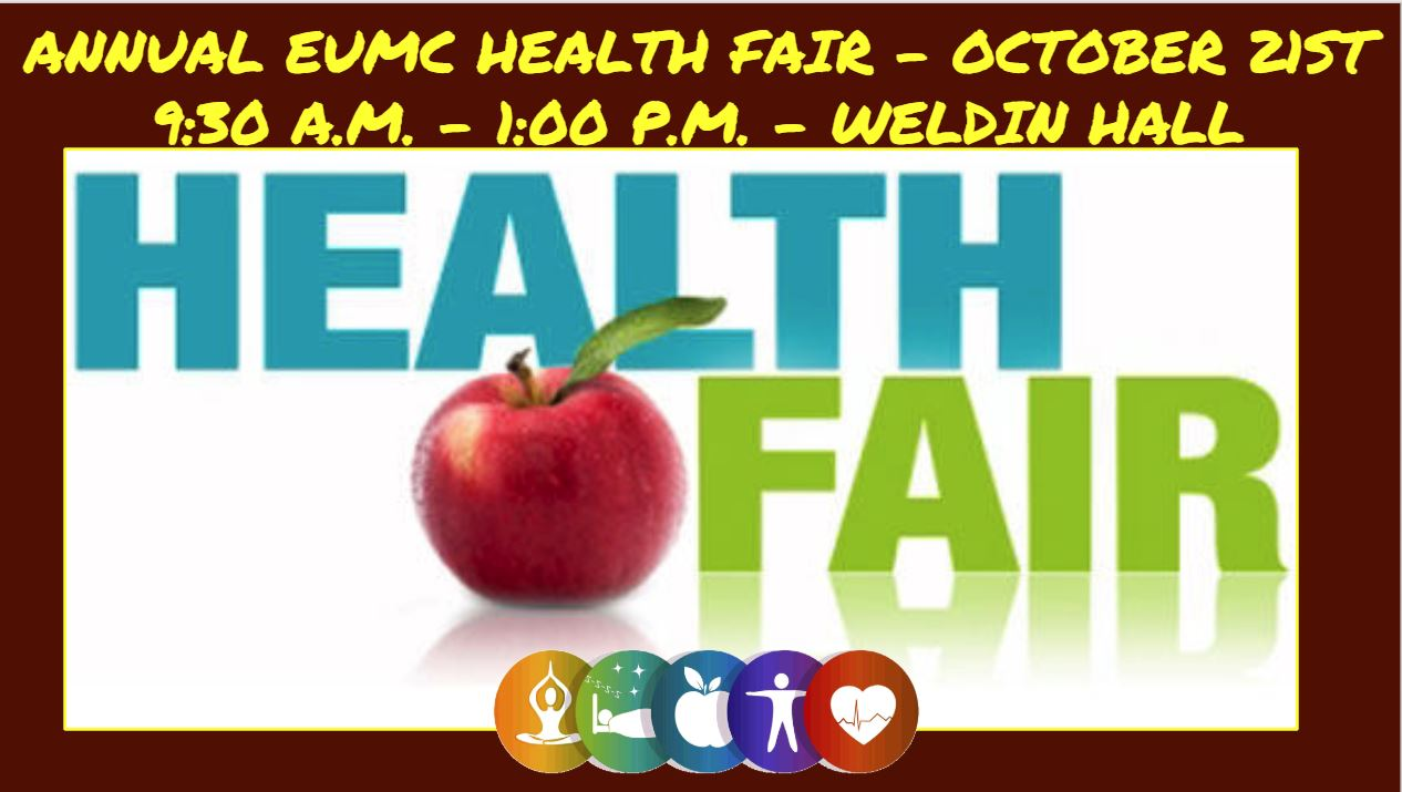 EUMC Annual Health Fair - Oct 21st