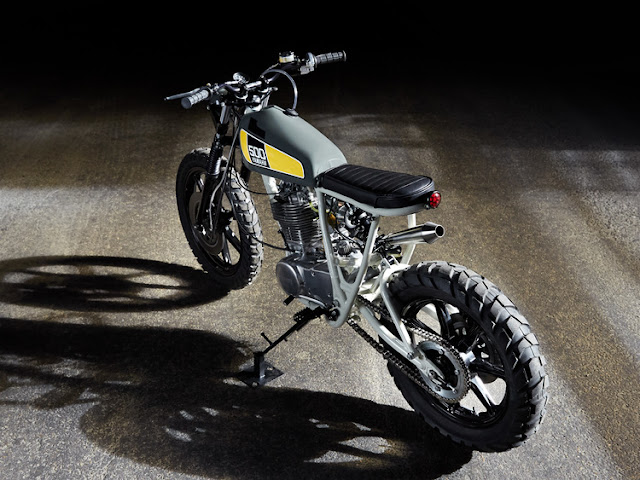 Yamaha SR500 1978 By Federal Moto Hell Kustom