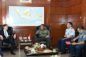 Kasum TNI Terima Kunjungan Kehormatan Deputy Assistatn Secretary of Defence