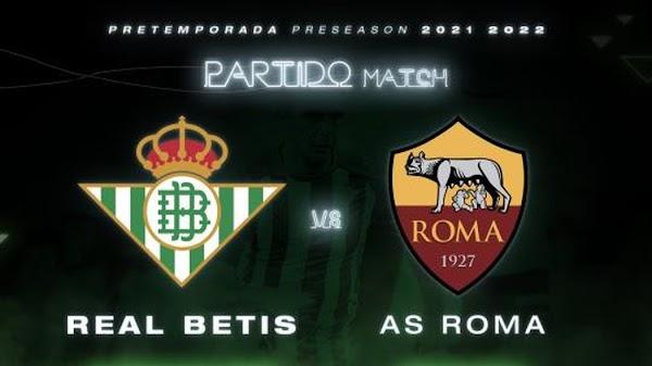 El Betis se medirá a la Roma en pretemporada