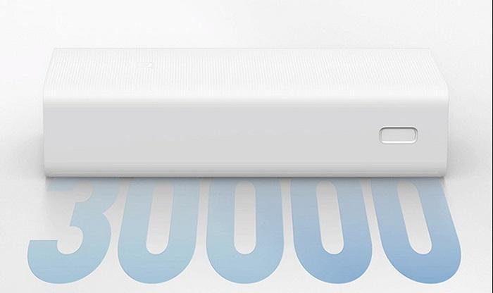 Xiaomi Mi Power Bank có dung lương 3000 mAh