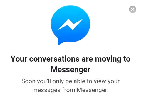 Facebook Forcing Android Users to Download its Messenger App price in nigeria