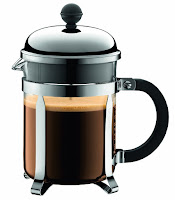 The 12 Days of Christmas Starbucks Gift Ideas includes this cute Bodum French press.
