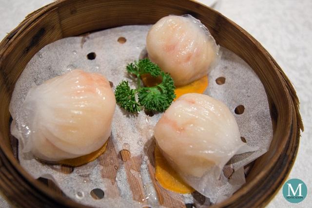 Steamed Shrimp Dumplings by Shang Palace at Shangri-La Hotel Guilin