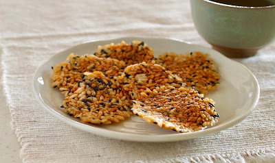 5 MIN Homemade Senbei Rice Crackers