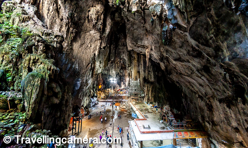 The name Batu has been taken from the word 'Sungai Batu' which means Stone River. There are no entry charges for Batu caves but there is ticket in one of the caves if you want to take a tour with guides and they show some habitants of these caves.
