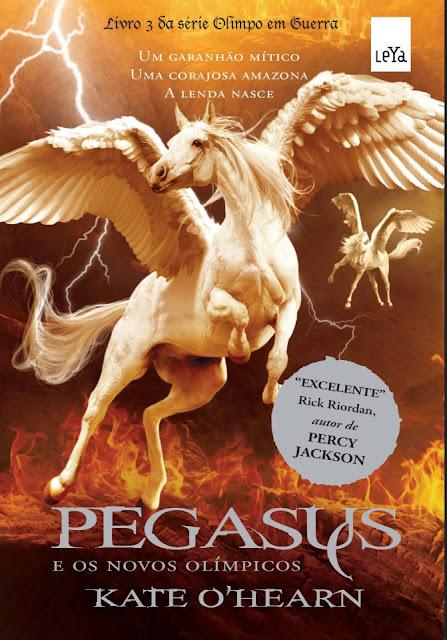 News: Capa de Pegasus e os novos Olimpicos, de Kate O'Hearn 8