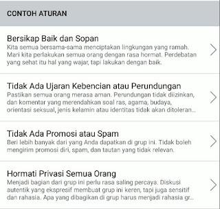 Cara Membuat Aturan Di Grup Facebook