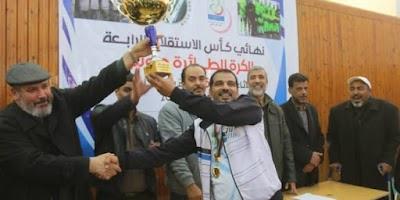 نادي طرابلس بطل كأس الاستقلال الرابعة
