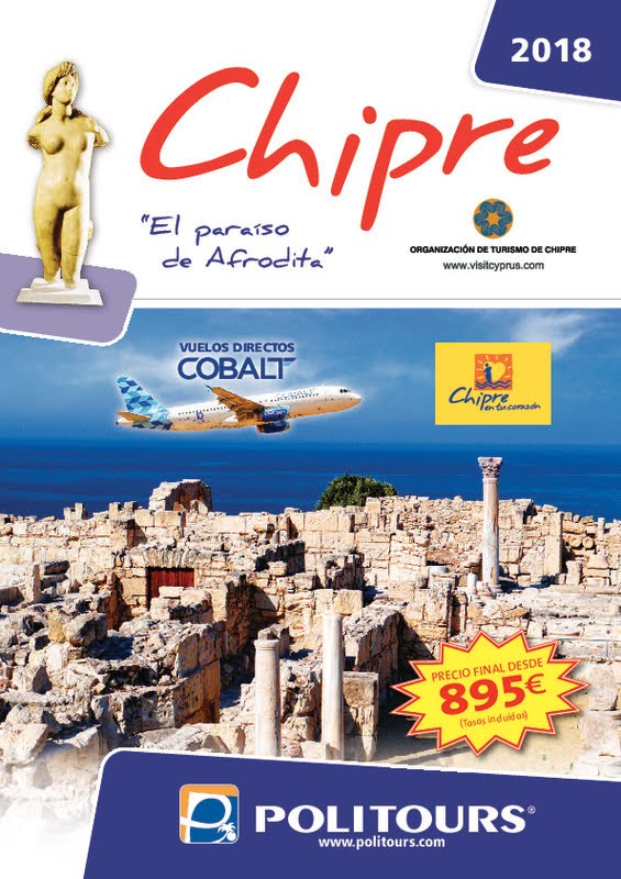 Catálogo Politours Circuitos Chipre 2018-19