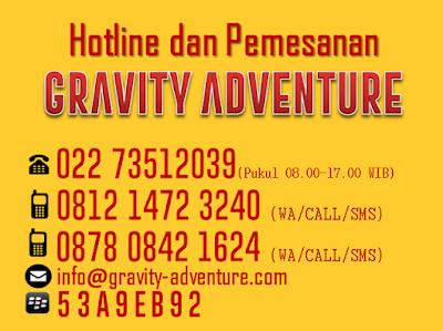 arung jeram di bandung dengan gravity adventure