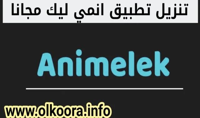 رابط تحميل تطبيق انمي ليك Animelek مجانا لمشاهدة وتحميل مسلسلات الانمي 2020