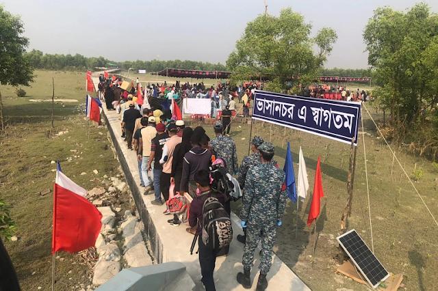 Bangladesh begins moving second group of Rohingya to Bhashan Char