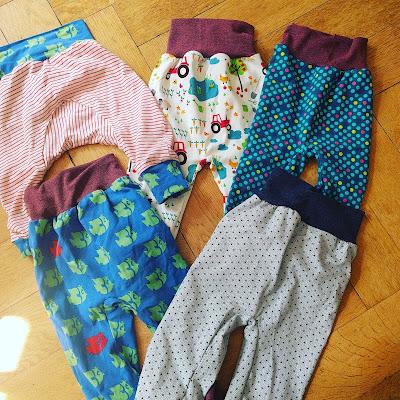 Runzelfuesschen Elternblog rosa oder hellblau naehen fuer kinder kinderkleidung