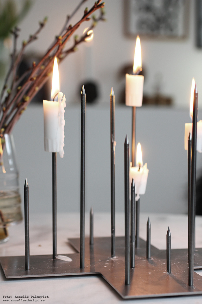 annnelies design, candle cross, ljusstake