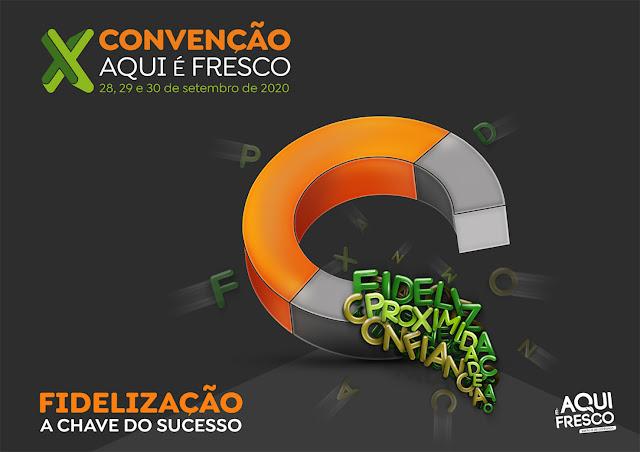 """""""Fidelização: a chave do sucesso"""" é o tema central da primeira convenção digital da rede Aqui é Fresco"""