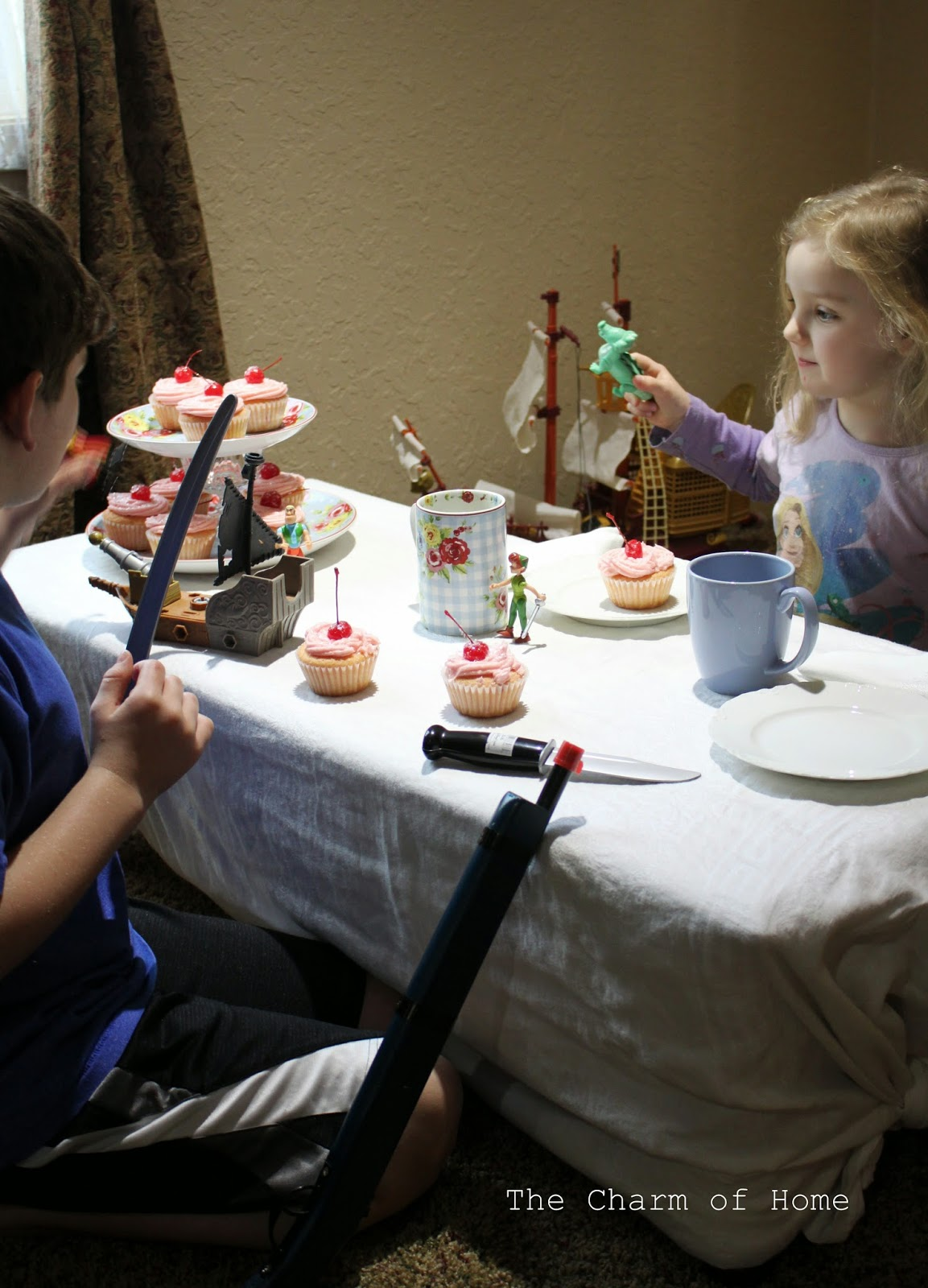Fairy Cakes with Pixie Dust: The Charm of Home