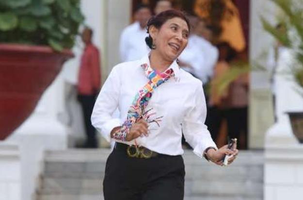 Ibu Susi, Satu-Satunya Menteri Lulusan SMP