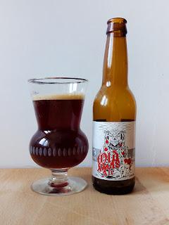 La Quince - Guineu Old XMAS Ale dorado y en botella