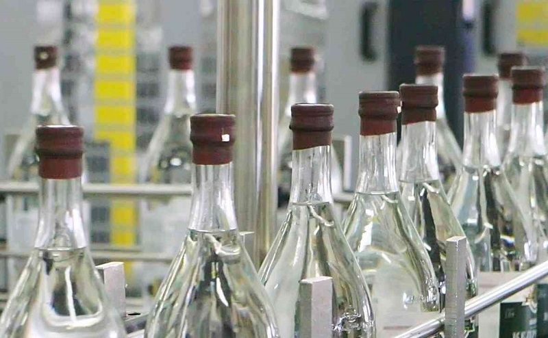 Manufacturing of alcohol