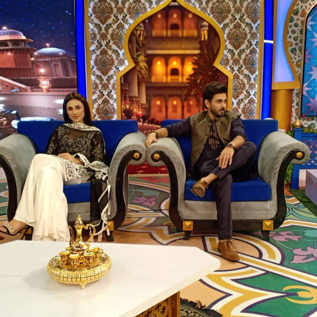 Reema Khan Ramzan Show | Ali Ansari and Mashal Khan Beautiful Pictures
