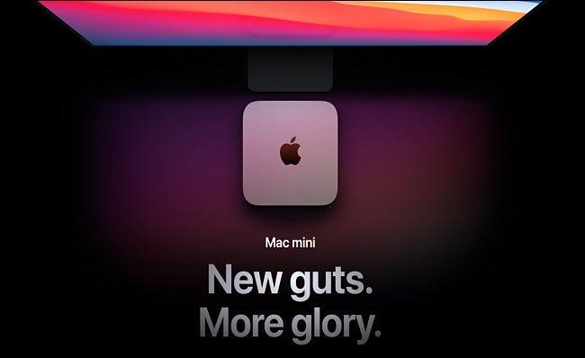 طراز Apple Mac Mini M1 بدءًا من عام 2020