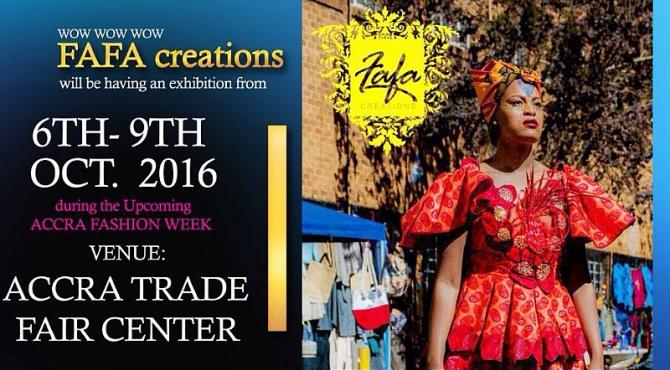 Leading South African apparel store, FAFA Creations, a brand that caters for both African women and men is currently in Ghana to join 100 of exhibitors at the 2016 Accra Fashion Week which will take place from 6th to 9th October, 2016 at the Accra Trade Fair Center.  The brand which symbolizes the beauty of the African continent and its people is aimed at providing abundant African clothing and accessories and have great intents to become a central hub of shopping activity for local African populations and others who enjoy wearing African apparels.  Founder and CEO of FAFA Creations, Tanya Kagnaguine noted the team came all the way from South Africa to participate in the event because of their interest to launch the brand in Ghana. She also encouraged the public to attend her special fashion show scheduled for 9th October at 3:30 PM.  Accra Fashion Week is set to be a fun filled event with much celebrities and fashion and entertainment personalities present showcasing the latest trends and introducing fashion from all over the world including USA, Nigeria, Ethiopia, Senegal, Zambia, Zimbabwe, Sierra Leone, South Africa, UK, Netherlands and much more.  Although, the show is also strictly focused on the business of fashion and it's the first fashion event in Ghana to focus primarily on the involvement of fashion boutiques as it's target audience.  FAFA Creations is located in north rand, precisely in the commercial district of Sandton, South Africa and has centralized itself directly in a position for social activities.