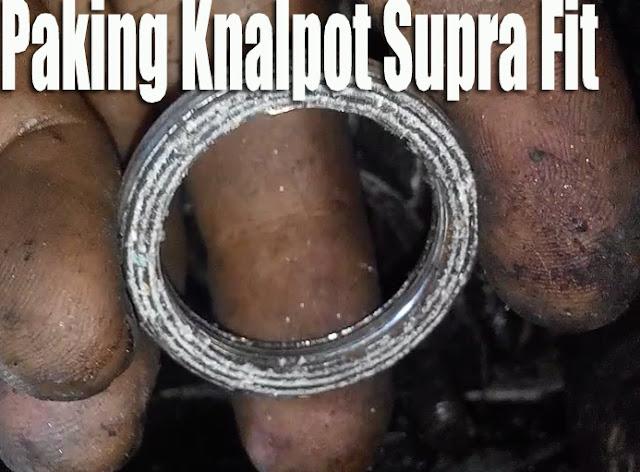 Cara Memasang Paking Knalpot Motor