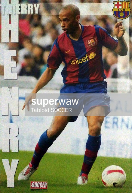 Thierry Henry FC Barcelona 2007
