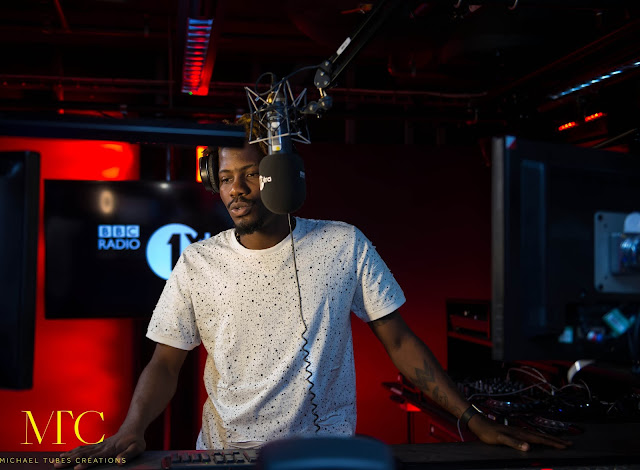YCEE Premiers new music during BBC 1 XTRA HOSTING